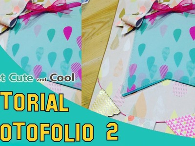 Album de scrapbooking photofolio tutorial 2