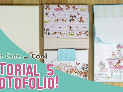Album de scrapbooking Photofolio tutorial 5