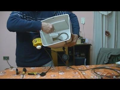 Calefon Electrico (como automatizar facil)-Aquecedor elétrico de água (como facilmente automatizar)