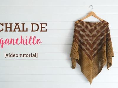 Chal de Ganchillo | Crochet shawl