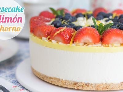 Cheesecake o Pay de Limón | Postre sin horno | Quiero Cupcakes!