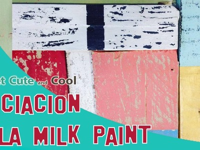 Iniciación a la Milk paint (Miss Mustard Seed's)