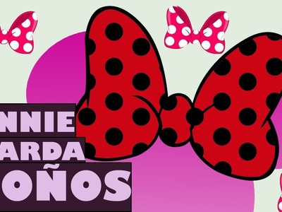 Minnie Mouse Guarda Moños