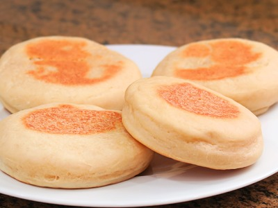 Muffin Inglés | Pan sin Horno esponjoso ideal para desayunar!
