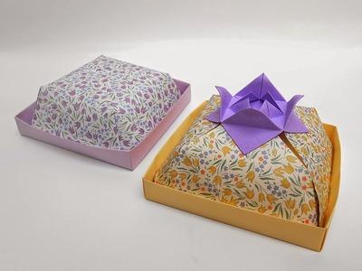 Origami:  Bandeja con Tapa Multiusos- Hogar Tv  por Juan Gonzalo Angel