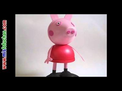 Peppa Pig en foami 3D o muñeca Fofucha Peppa Pig - Video Trailer Avance
