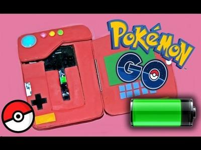 POKEDEX con BATERÍA + Caza POKEMONS de Cartón, Pokémon Go! - BeagleArts ♥