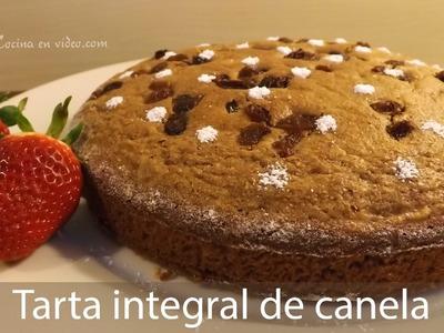 TARTA INTEGRAL de canela y manzana, deliciosamente rica.   | #TonioCocina 199