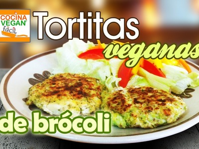 Tortitas veganas de brócoli - Cocina Vegan Fácil