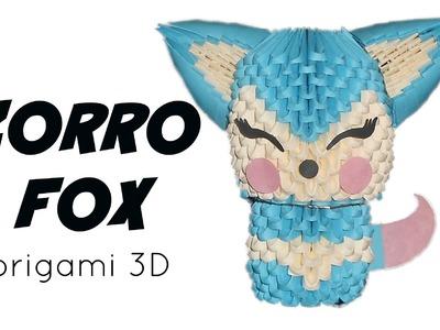 Zorro - Fox en origami 3D