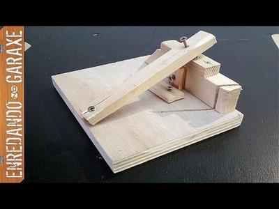 3 guías de carpintería raras e improvisadas