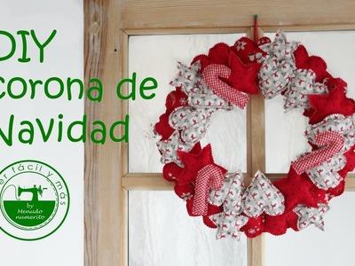 Adornos de navidad DIY: una corona o guirnalda para casa
