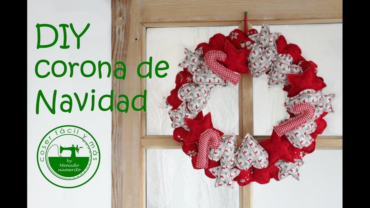 Adornos de navidad diy una corona o guirnalda para casa - Adornos navidenos casa ...
