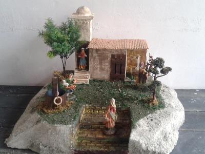 Casa para Aldeanos (Con cajas de cartón)