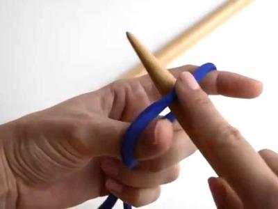 Cómo hacer un montaje doble o de hebra larga | WE ARE KNITTERS
