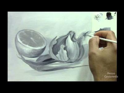Curso Como pintar un Bodegón - Parte 3