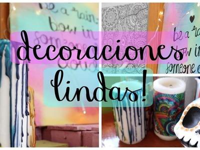 Decoraciones lindas y fáciles! | Dani Hoyos Art