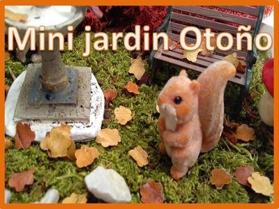 DIY mini jardin de otoño  decora tu casa en otoño- ideas para otoño