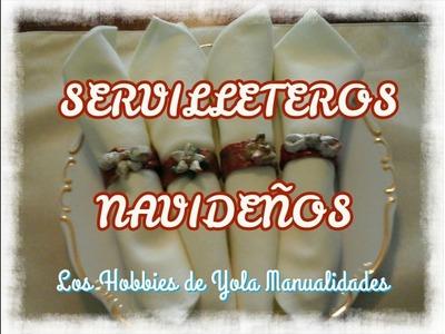 DIY Servilleteros Navideños. Los Hobbies de Yola
