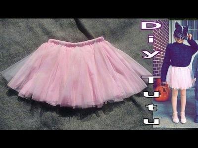 DIY TUTU como hacer tutu de niña sin maquina de coser.