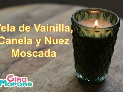 DIY Vela de Vainilla, Canela y Nuez Moscada