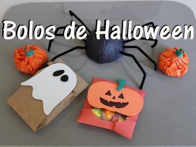 Ideas de bolos para Halloween DIY