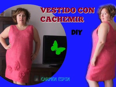 VESTIDO VERANO CON CACHEMIR;DIY