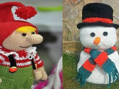 Amigurumi Navidad En Crochet - Tejido para Noche buena