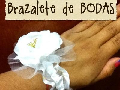 Bodas brazalete recuerdos de bodas invitados damas bracelet wedding gift