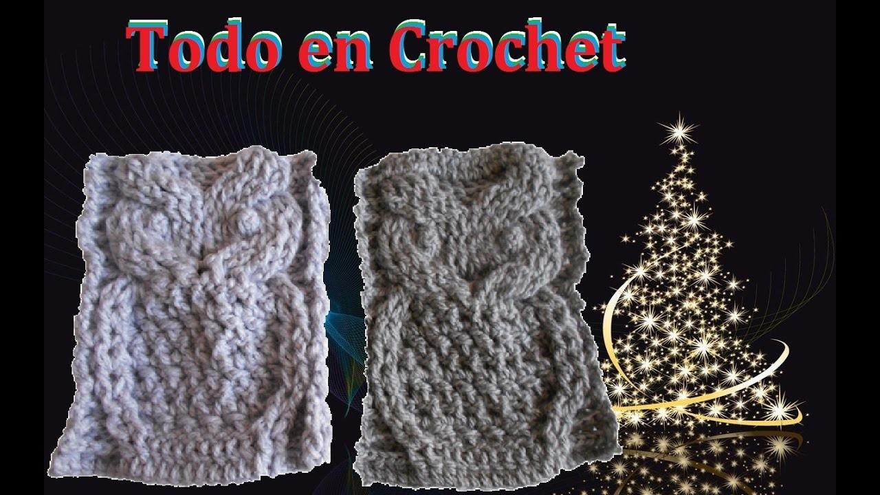 Búho en crochet  parte #1