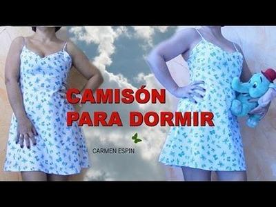 CAMISÓN DE DORMIR:DIY