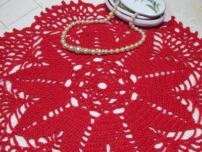 Carpeta - Centro de mesa a crochet