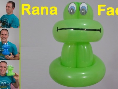 Como hacer una rana con globos - como hacer figuras con globos - como hacer un sapo con globos