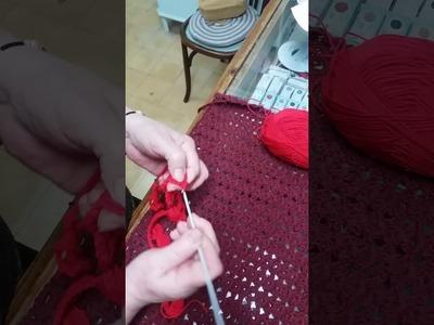 Cómo hacer una rosa a ganchillo o crochet
