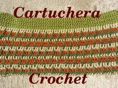 Como tejer una Cartuchera o Estuche Unisex en tejido crochet o ganchillo