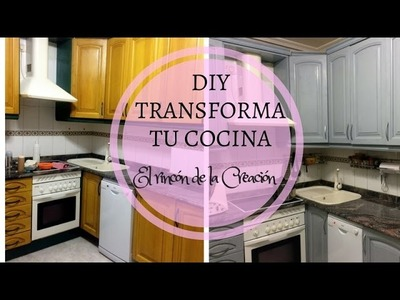 DIY, como transforme mi cocina.