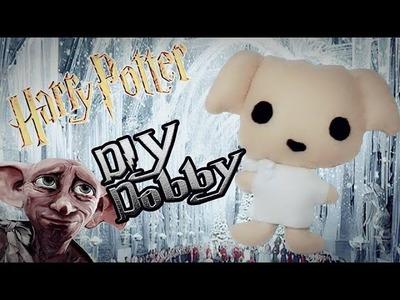 DIY - Tutorial. Peluce Chibi de  DOBBY!. Harry Potter ♥