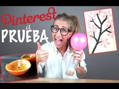 DIY | TUTORIALES PINTEREST A PRUEBA!