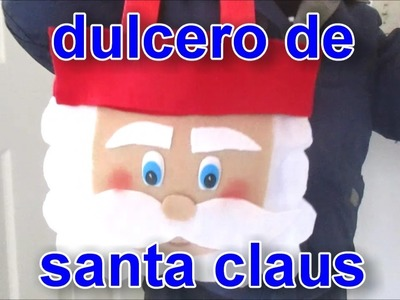 DULCERO DE SANTA CLAUS  *DIY* NAVIDAD
