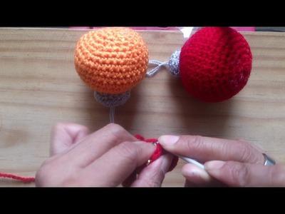 Esferas navideñas tejidas a crochet (PARTE 1 DE 2)