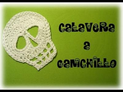 ESPECIAL HALLOWEEN: CALAVERA A GANCHILLO | CROCHET SKULL