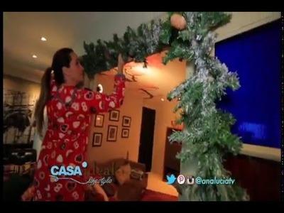 Guirnalda de Navidad para puertas - Navidad 2015. Casa Ideal