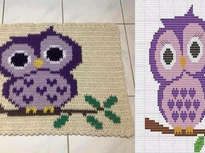 Patrones - Alfombras Tejidas en Crochet