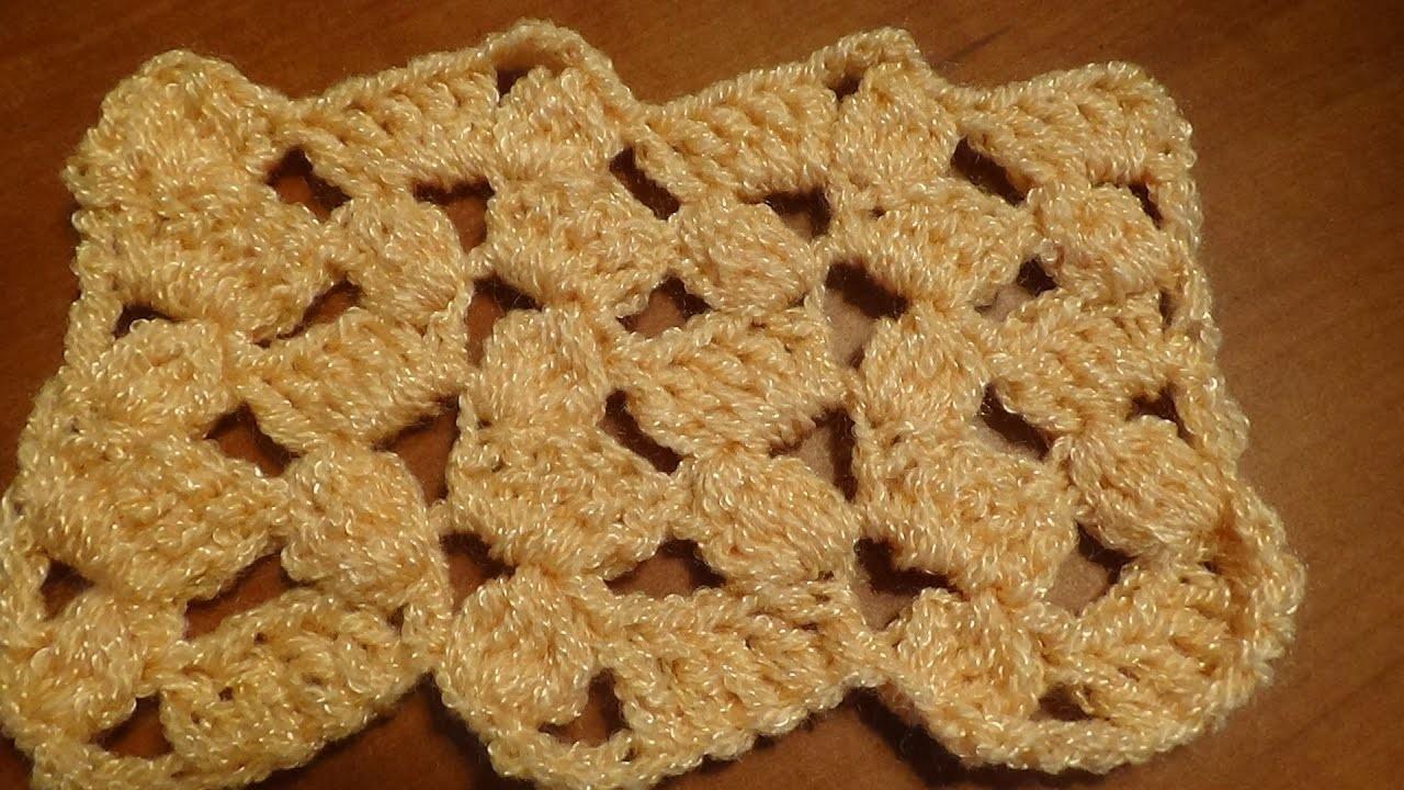 Puntada a crochet, muy fácil. Muestra No. 89