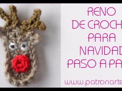 Reno de Crochet para navidad