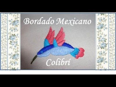 4.7 ♥ Bordado Mexicano ♥ COLIBRI ♥ Parte superior de las alas