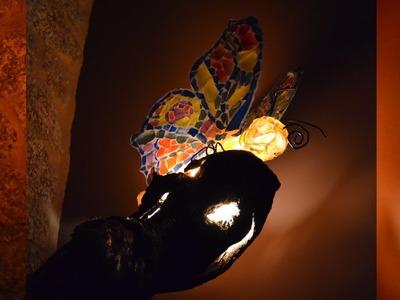 Cómo Crear Una Lampara Tiffany Con Esos Vasos Que Vas Rompiendo (Tutorial)
