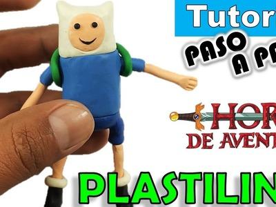 ✅COMO HACER A FINN EL HUMANO DE PLASTILINA DE HORA DE AVENTURA  ✅  POLYMER CLAY- ADVENTURE TIME