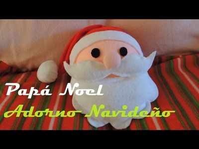 Como hacer a Papá Noel - How to make a Santa Claus