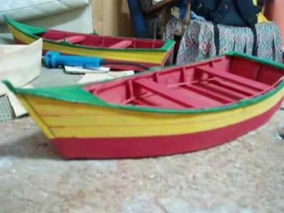 Como hacer bote . paso a paso